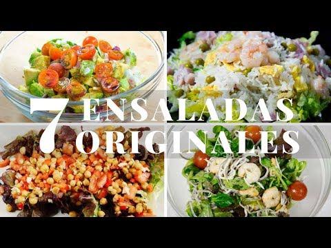 7 Ensaladas Originales y Fáciles 😍