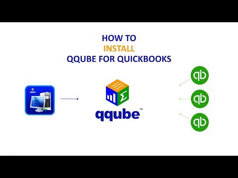 Installing QQube for QuickBooks