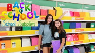BACK TO SCHOOL SUPPLIES SHOPPING 2020 AT TARGET! EMMA AND ELLIE