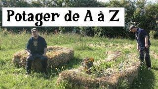 Le Potager de A à Z -14- (le temps des limaces)