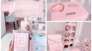 My Amazon Favorites! Pink Girly Fashion, Beauty & Decor