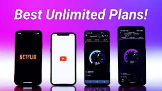 Best Unlimited Data Plans 2020!