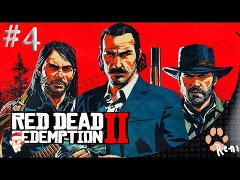 Red Dead Redemption 2 (PS4) CZ Záznam streamu #4 /R-e-n/