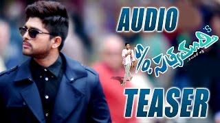 S/o Satyamurthy Official Teaser || Allu Arjun, Upendra, Samantha, Trivikram