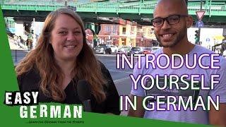 Introduce yourself in German | Super Easy German (1) - dooclip.me