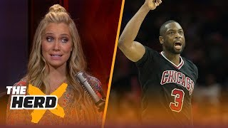 Dwyane Wade reportedly disliked by Bulls teammates - Kristine and Colin react | THE HERD