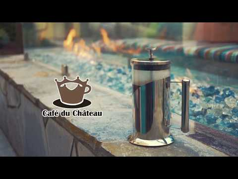 Cafe du Chateau French Press Coffee Maker - ImJustACheung Commercial
