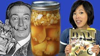 Salvador Dali's THOUSAND YEAR OLD EGGS Recipe Test - Les Diner de Gala