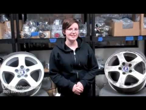 Saab Rims & Saab Wheels - Video of our Factory, Original, OEM, stock new & used rim Shop