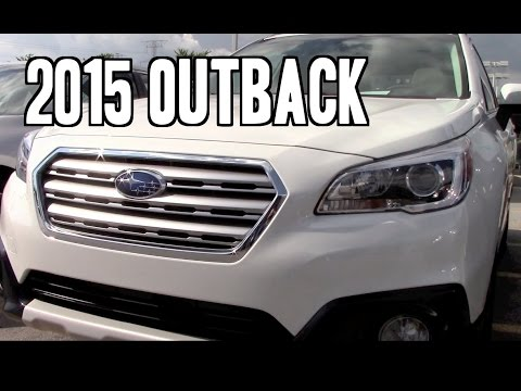 2015 Subaru Outback Limited Review
