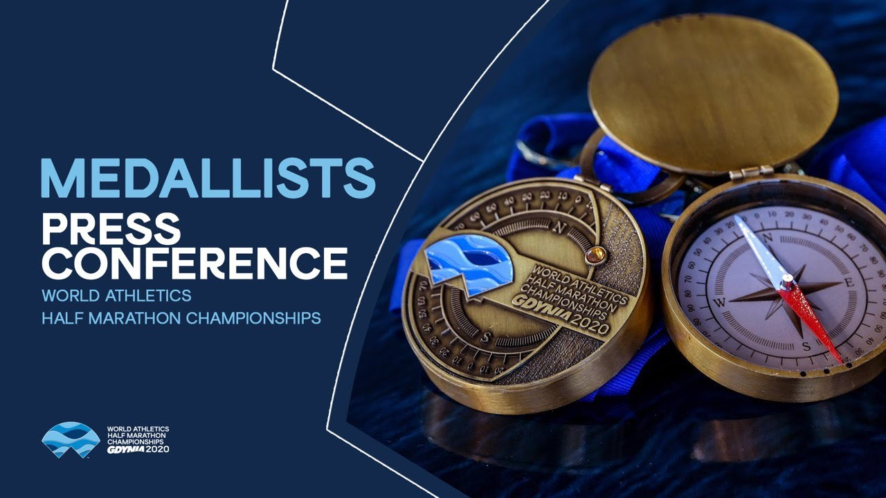 World Athletics Half Marathon Championships Gdynia 2020 – Medallists Press Conference
