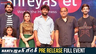 Watch Nani's Gang Leader Pre Release Event LIVE