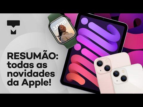 RESUMO EVENTO APPLE: iPhone 13, Apple Watch Series 7, novos iPads e mais!