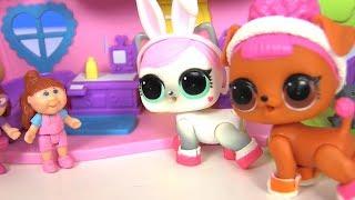 #Лол LoL Surprise Клиника для Питомцев ЛОЛ #Видео для детей! Мультик с игрушками! Сюрпризы ЛОЛ
