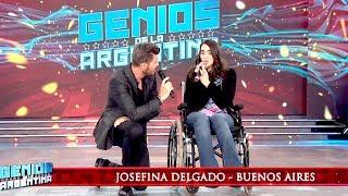 La historia de superación de Josefina Delgado que conmovió a todos