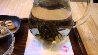 工芸茶ジャスミン仙女が花ひらく
