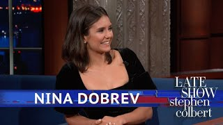 Nina Dobrev Asks Stephen For 'Tequila Please'