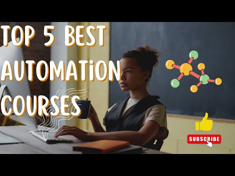 Top 5 Best Automation Courses with Certification 2020
