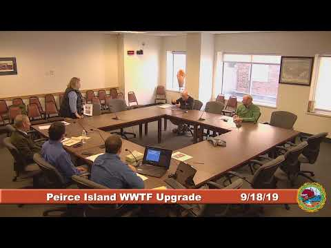 Peirce Island Waste Water Treatment Facility Upgrade 9.18.2019