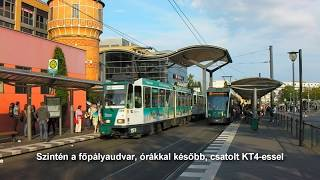 preview picture of video 'Potsdam villamosai / Trams in Potsdam'