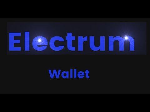 Electrum Wallet - Privat Key + Wallet.dat importieren - erster versuch