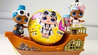 Сюрпризы Куклы #ЛОЛ Конфетти ПОП Распаковка Нашла ФАРАОН! Игрушки для детей Мультики про Куклы ЛОЛ