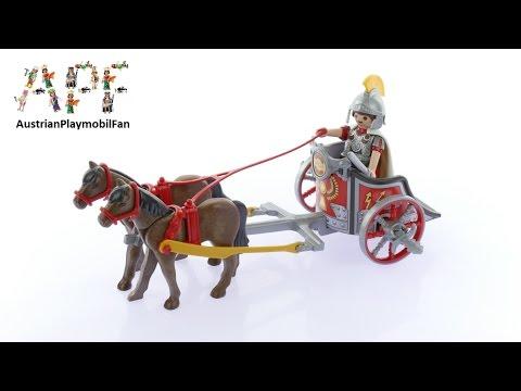 Vidéo PLAYMOBIL History 5391 : Char romain avec tribun