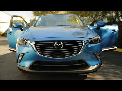 Car Tech - 2016 Mazda CX-3 Grand Touring FWD