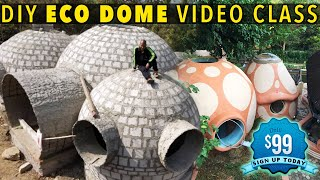 DOME HOME WITH AN UNDERGROUND BUNKER
