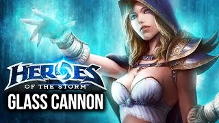 """Heroes of the Storm: """"Glass Cannon"""" Jaina Build!"""