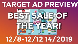 Target Ad Preview (12/8-12/14/2019)-Best Target Sale of the Year!-Gina Schweppe