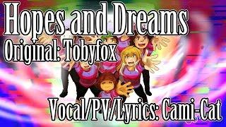 Undertale- Hopes and Dreams with Original Lyrics!