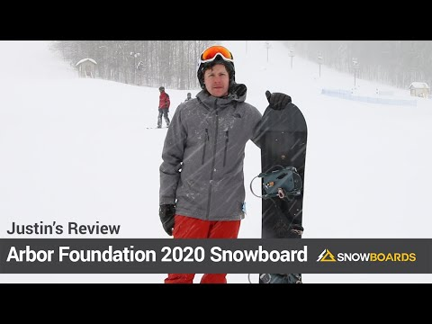 Video: Arbor Foundation Snowboard 2020 10 50