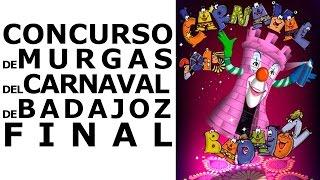 preview picture of video 'Final Concurso de Murgas Carnaval de Badajoz 2015'