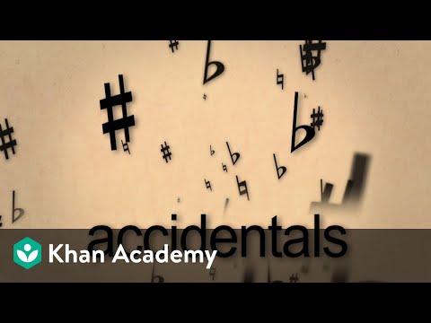 Lesson 7: Accidentals (video) | Music basics | Khan Academy