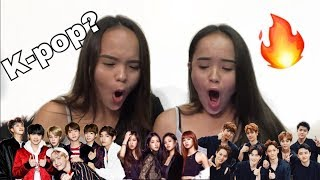 Download Video NON K-POP FAN REACTS TO K-POP (BTS, BLACKPINK, EXO) MP3 3GP MP4