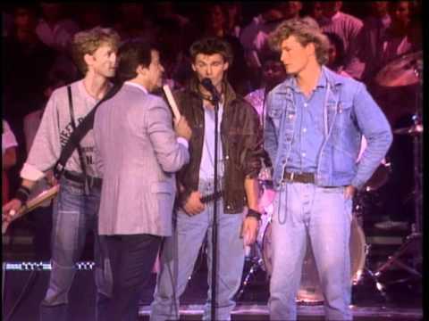 Dick Clark Interviews A Ha - American Bandstand 1985
