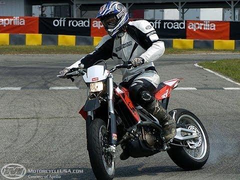 2007 Aprilia SXV First Ride - MotoUSA