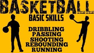 BASIC SKILLS OF BASKETBALL || VIDEO PRESENTATION