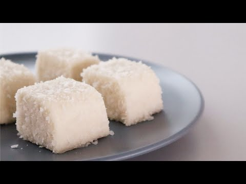 4K 七步成糕 - 椰汁糕 How To Make Coconut Pudding within few mins