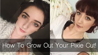 How to Grow Out Your Pixie Cut! Tips and Tricks