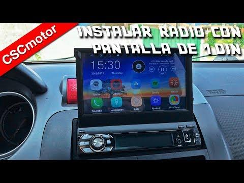 Instalar radio con pantalla extraible | Consejos