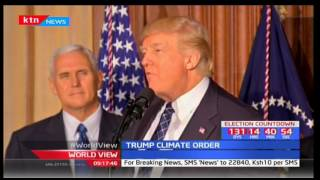 President Trump scraps Obama's climate policies