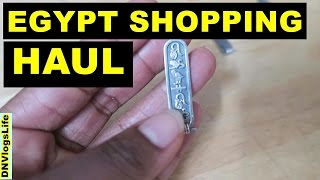 Shopping Haul From EGYPT   Jewelry, Home Decor, Perfumes, Egyptian Art