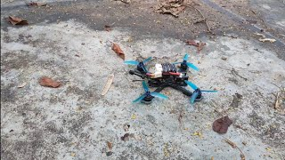 Well it survived, but after another crash..? [Nazgul5 FPVdrone]