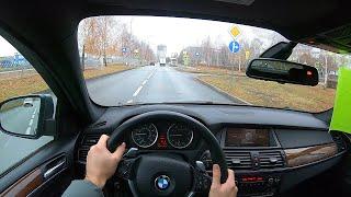 2008 BMW X6 (E71) xDrive35i (N55B30) 3.0L 306HP POV TEST DRIVE