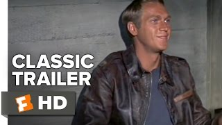 The Great Escape (1963) Official Trailer   Steve McQueen Movie