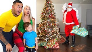 Spying On Santa Claus on Christmas... (Kids Got So Many Surprises)