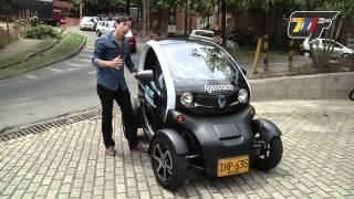 Renault Twizy, un auto eléctrico para dejar de abrazar árboles