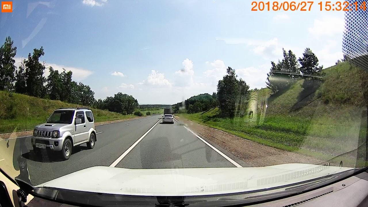 У Газели отлетели колеса, пострадал ВАЗ на трассе Ульяновск - Самара